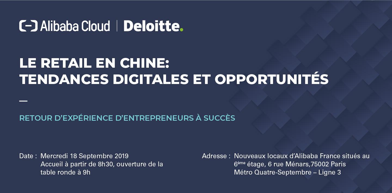 Le Retail en Chine: tendances digitales et opportunités Retour d'expérience d'entrepreneurs à succès