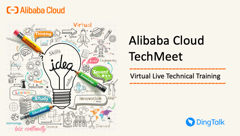 MY-TechMeet Technical Trainings via DingTalk Live