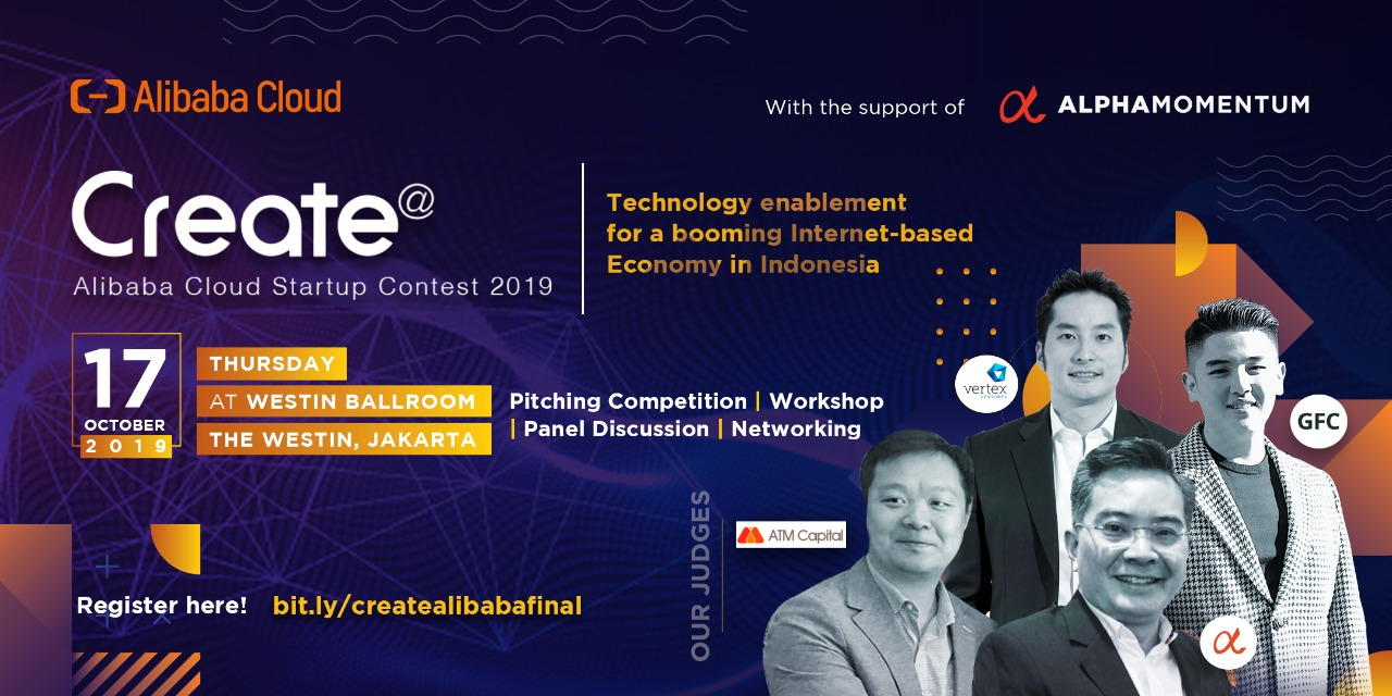 Create @ Alibaba Cloud Startup Contest Indonesia