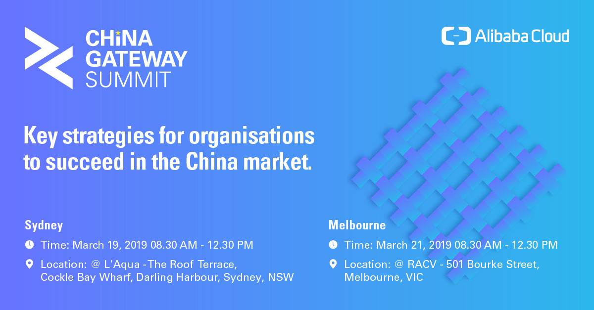 China Gateway Summit - Sydney