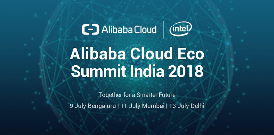 Alibaba Cloud Eco Summit Bengaluru 2018