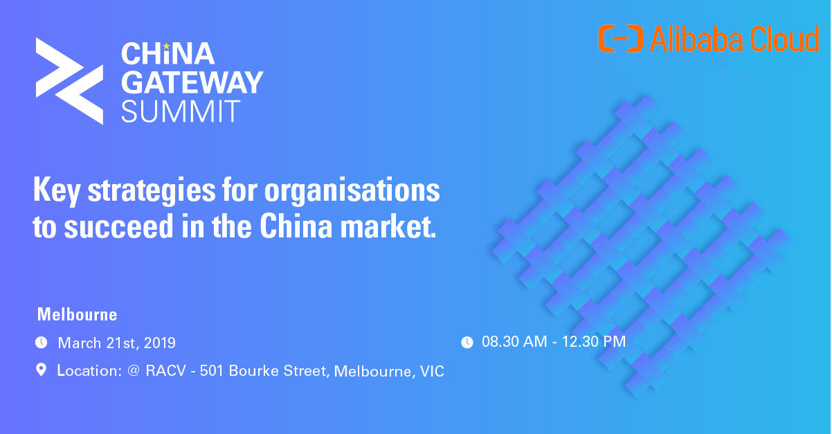 China Gateway Summit - Melbourne