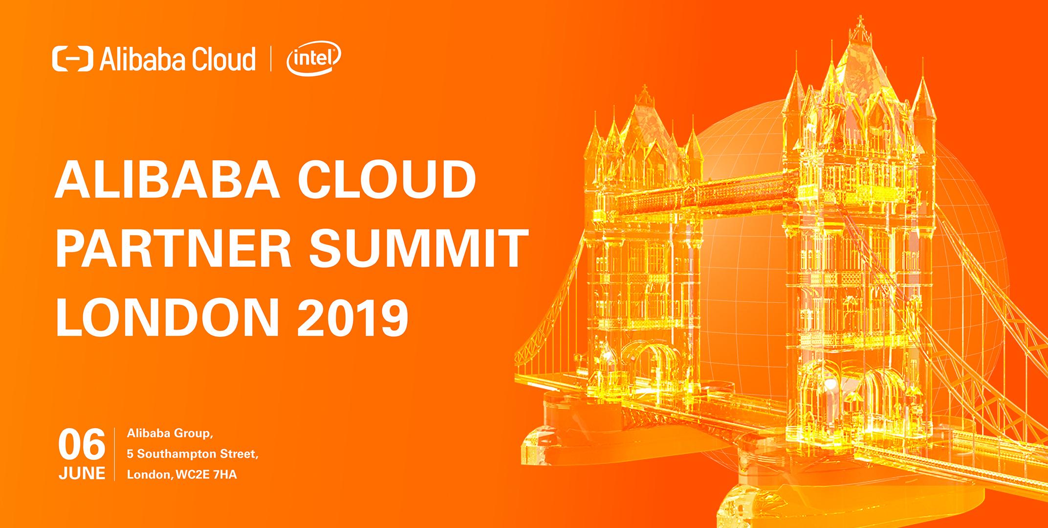 Alibaba Cloud Partner Summit London 2019