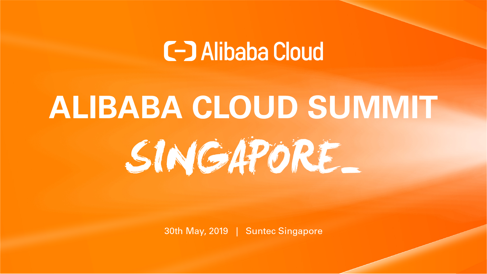 Alibaba Cloud Summit Singapore 2019