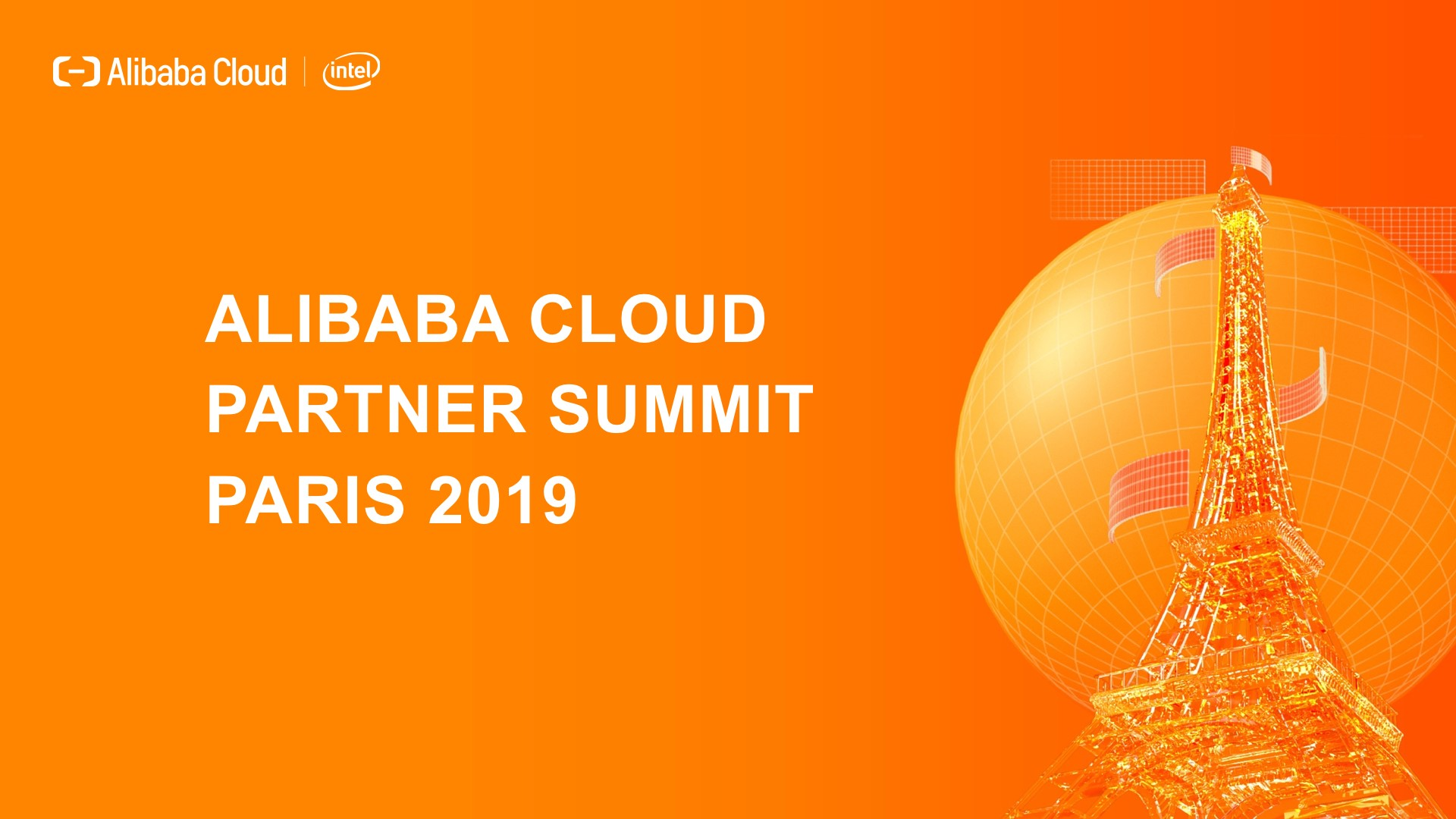 Alibaba Cloud Partner Summit Paris 2019