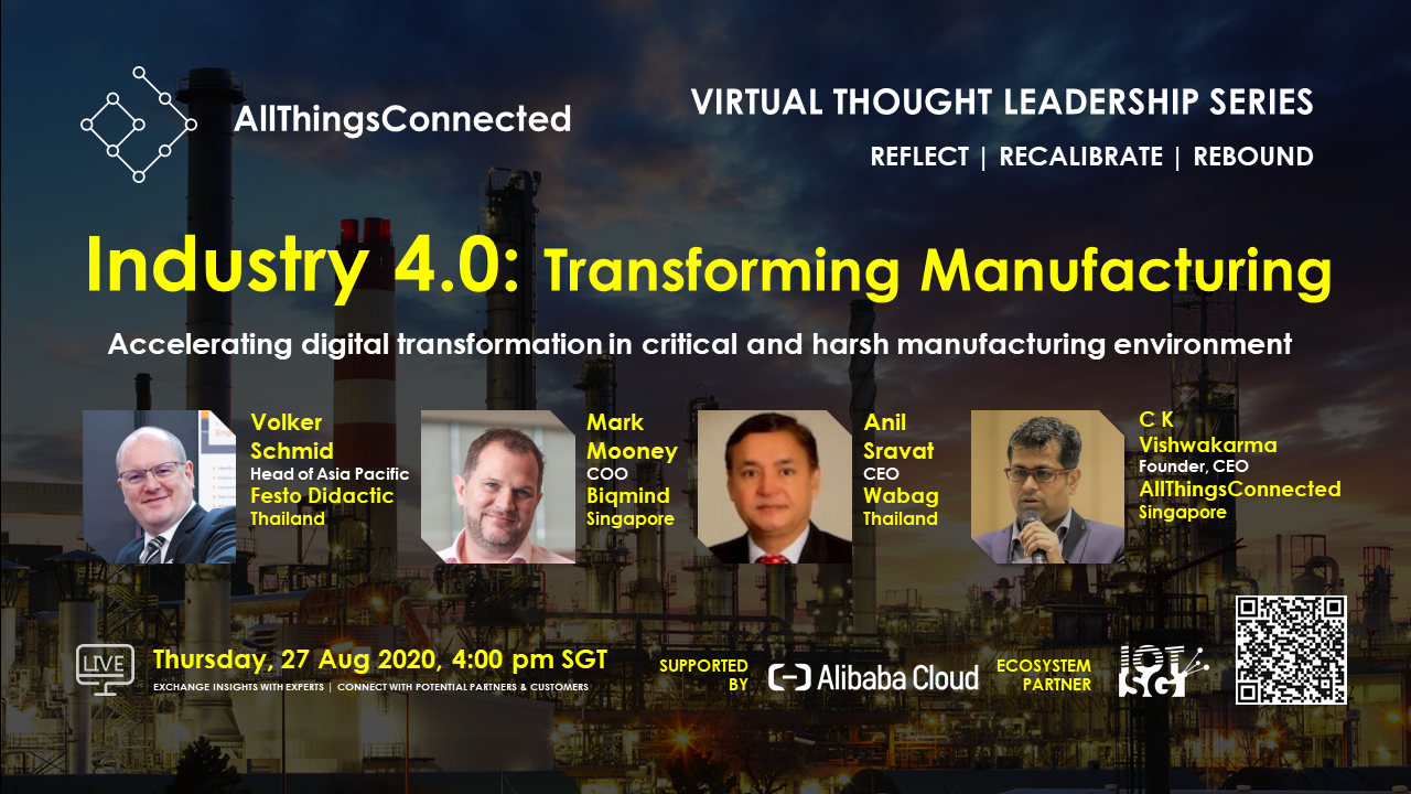 IoT: Industry 4.0 - Transforming Manufacturing