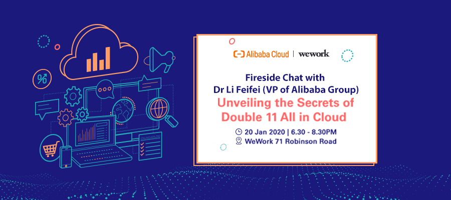 """Fireside Chat: Unveiling the Secrets of """"Double 11 All in Cloud"""" with Special Guest Speaker"""