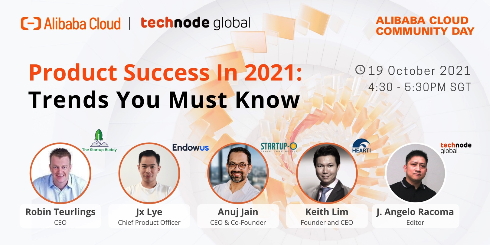 Alibaba Cloud Community Day: Product Success in 2021 - Trends You Must Know