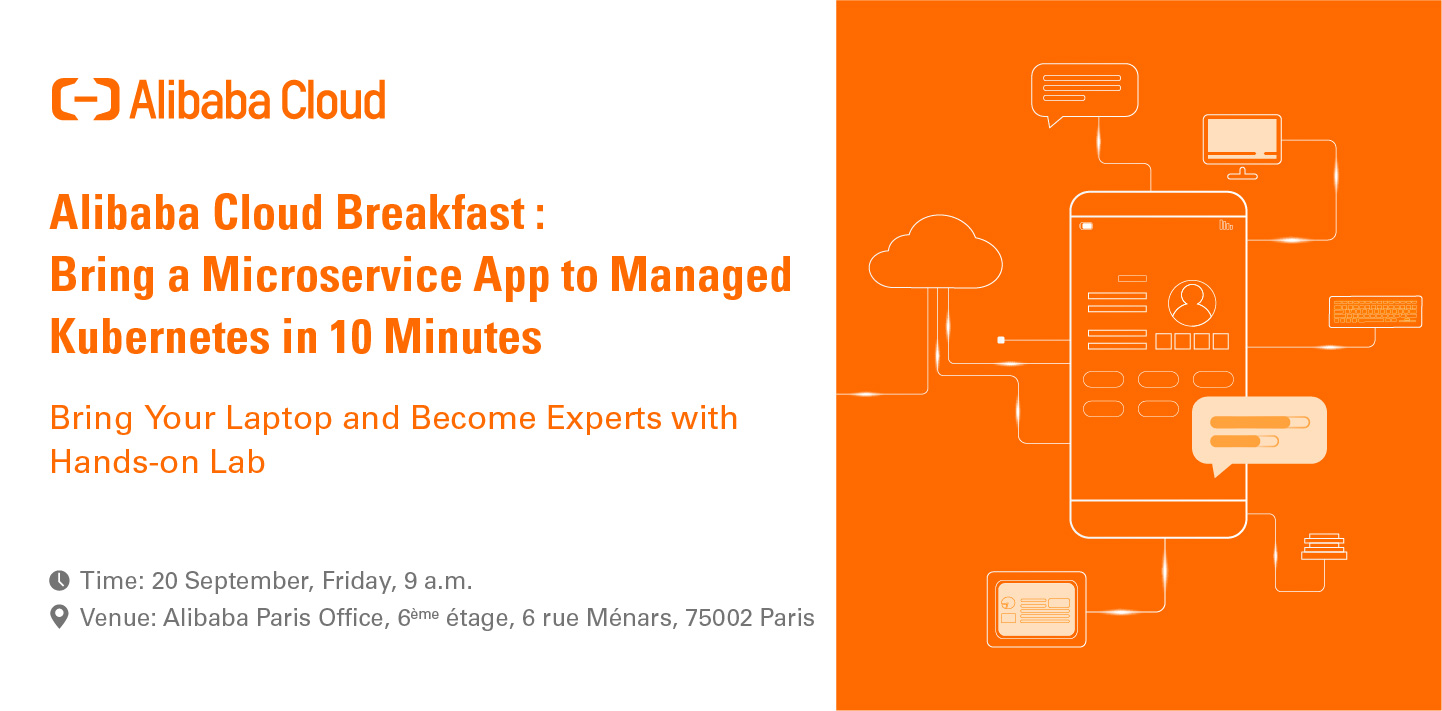 Alibaba Cloud Breakfast: Bring a Microservice App to Managed Service in 10 Minutes