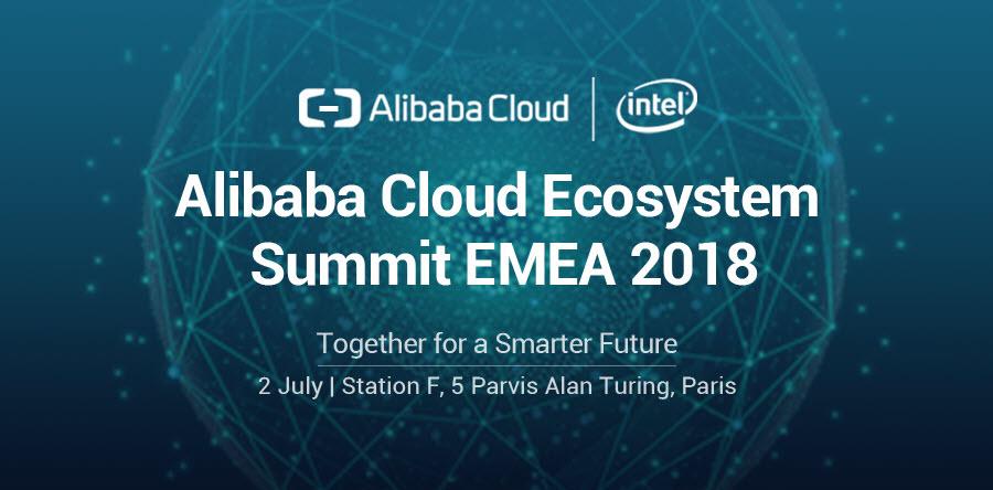 Alibaba Cloud Ecosystem Summit EMEA 2018