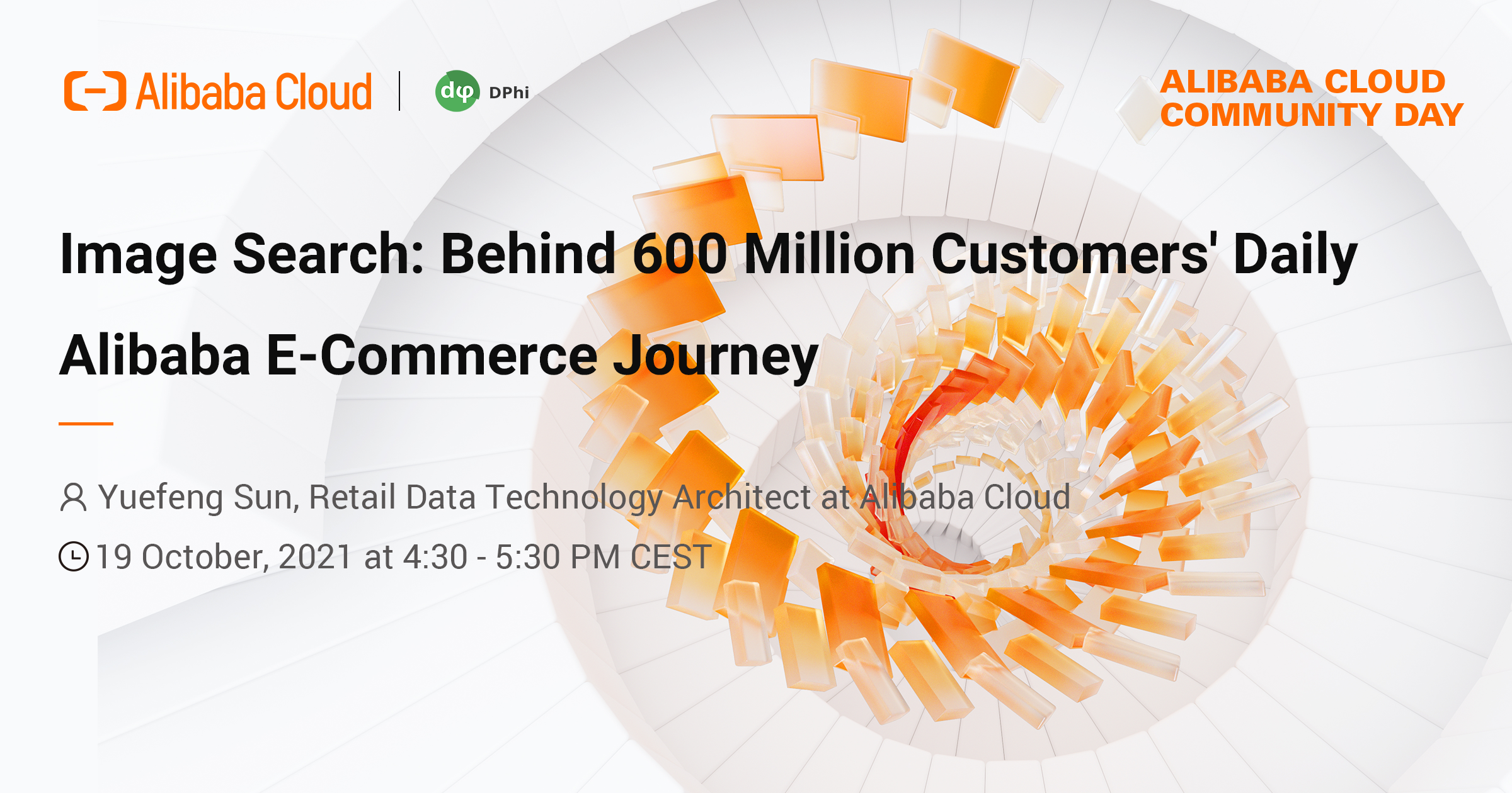 Alibaba Cloud Community Day: Image Search: Behind 600 Million Customers' Alibaba E-Commerce Journey