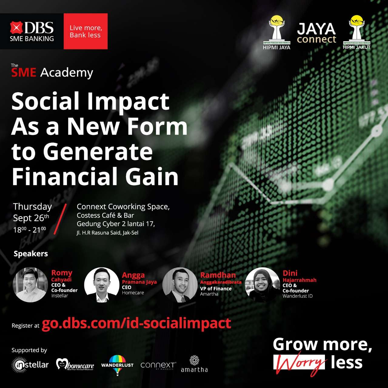 DBS SME Academy: Social Impact As a New Form to Generate Financial Gain