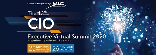 MIG - The 13th CIO Executive Virtual Summit 2020