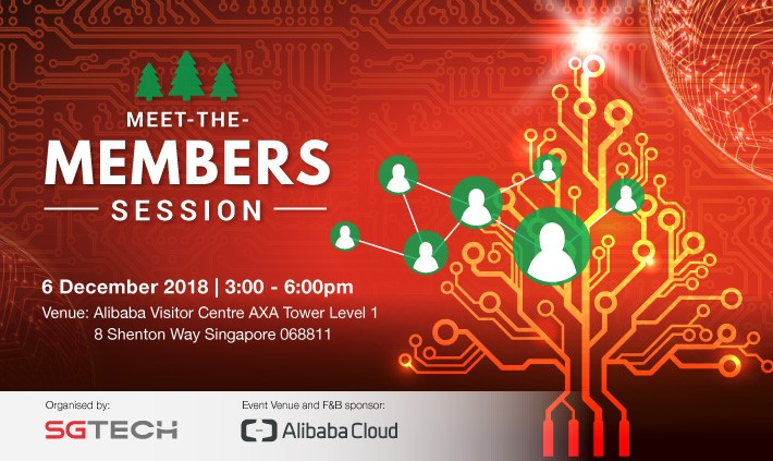 SGTECH Meet the Members Session 2018